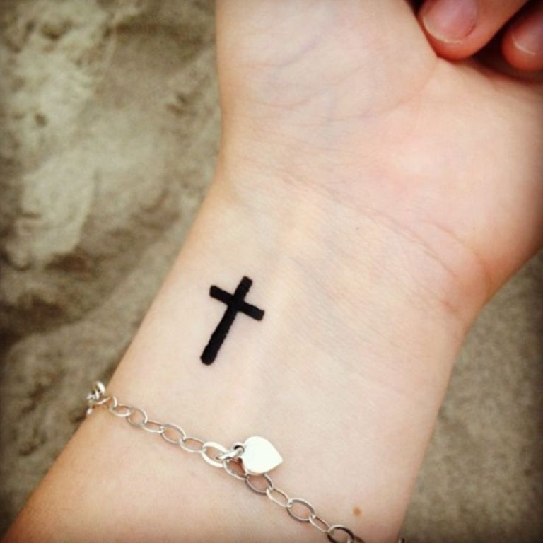 Cross Tattoos On Wrist Designs Ideas And Meaning Tattoos For You