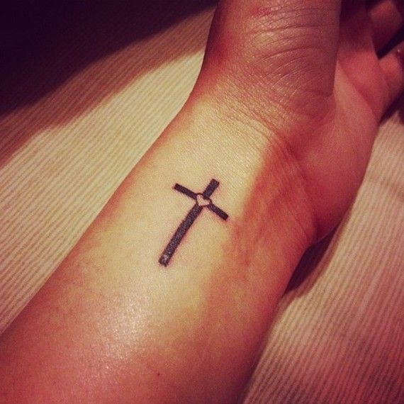 Cross Tattoos On Wrist Designs, Ideas And Meaning