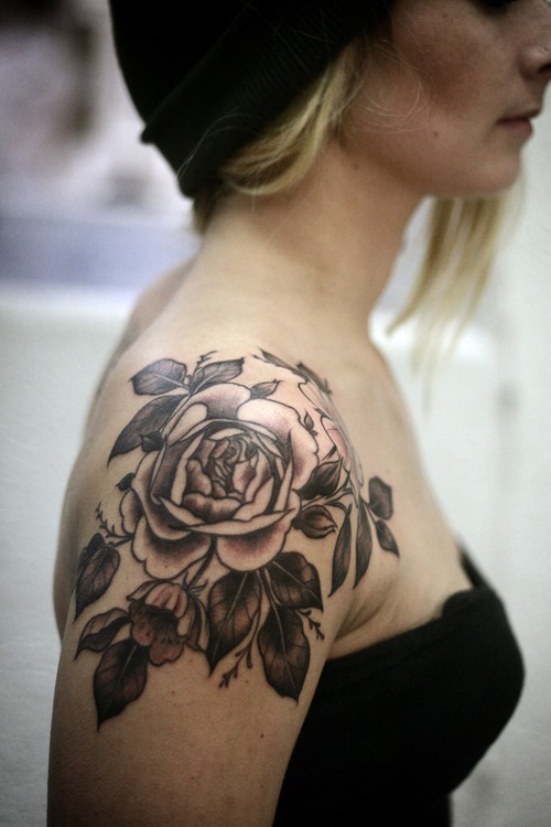 Shoulder Flower Tattoos Designs Ideas And Meaning Tattoos For You
