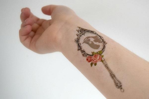 Mirror Tattoo Designs,...