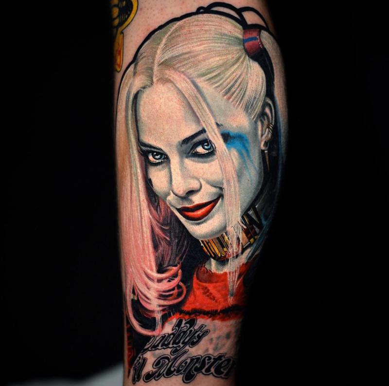 Harley Quinn Tattoos