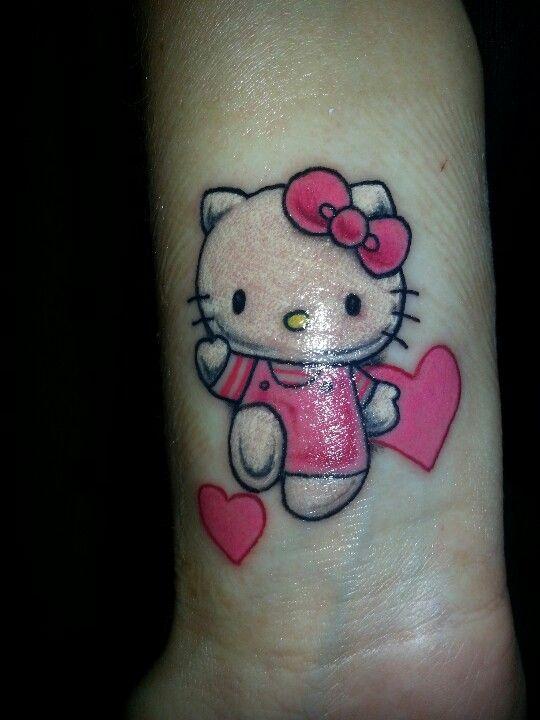 Hello kitty lip tattoo advise