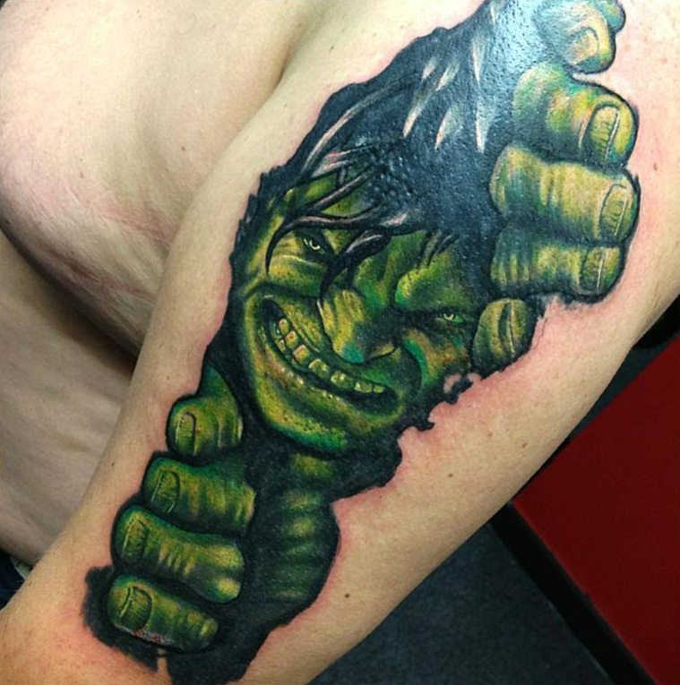Hulk Tattoos Designs, Ideas And Meaning