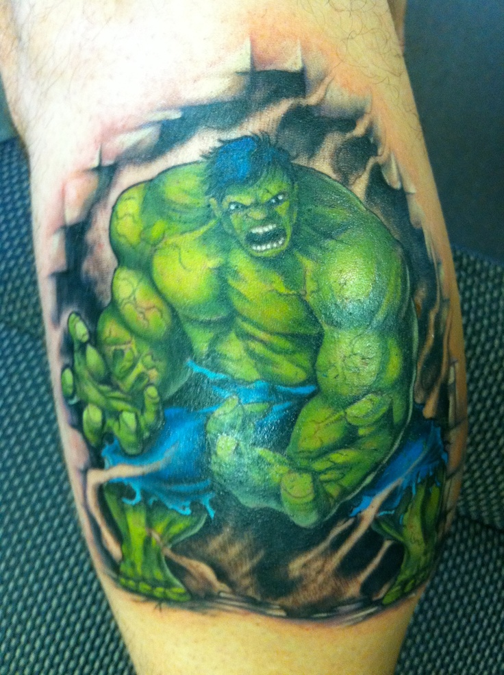 hulk tattoos designs  ideas and meaning