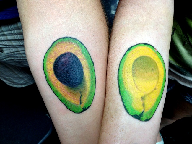 Avocado Tattoo Designs Ideas And Meaning Tattoos For You