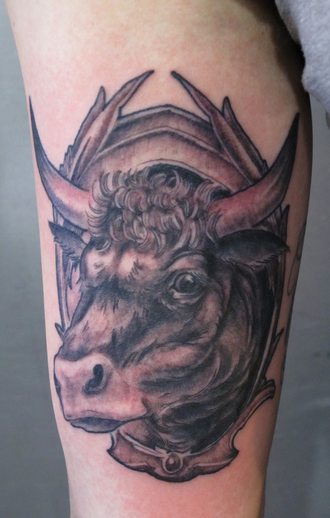 Cow Tattoo Designs Ideas And Meaning Tattoos For You