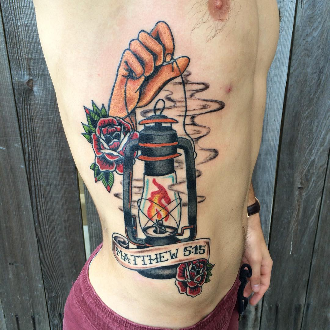 Lantern Tattoo Designs, Ideas And Meaning