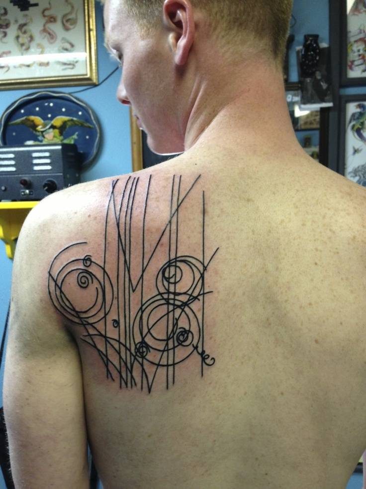 Back shoulder tattoos designs ideas and meaning tattoos for Mens tattoos with meaning