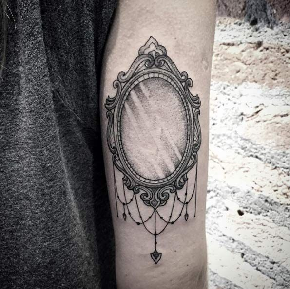 Mirror tattoo designs ideas and meaning tattoos for you for Mirror meaning