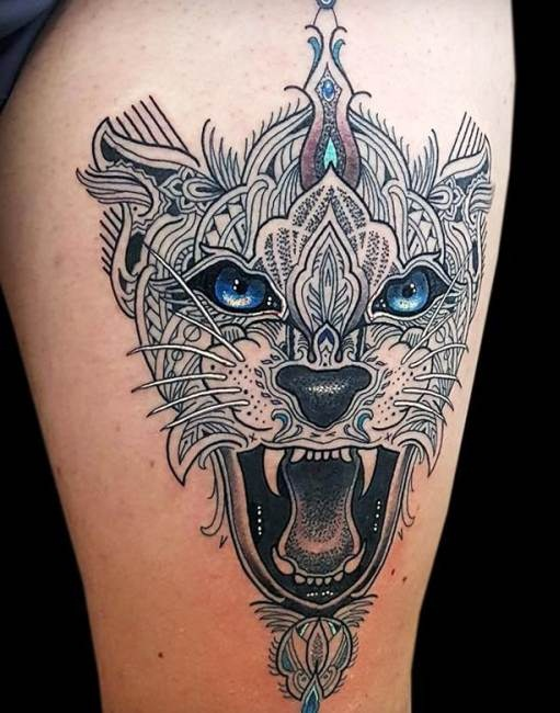 Mosaic tattoo designs ideas and meaning tattoos for you for Mosaic painting meaning