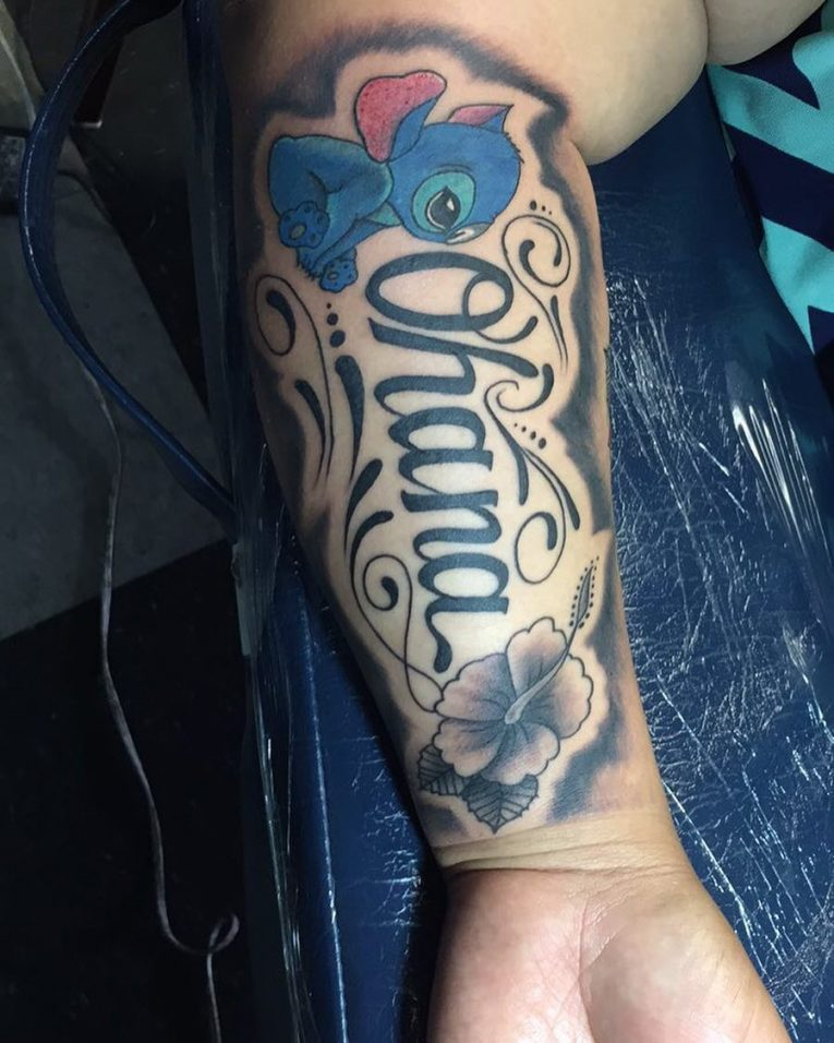 Ohana Tattoo Designs, Ideas And Meaning