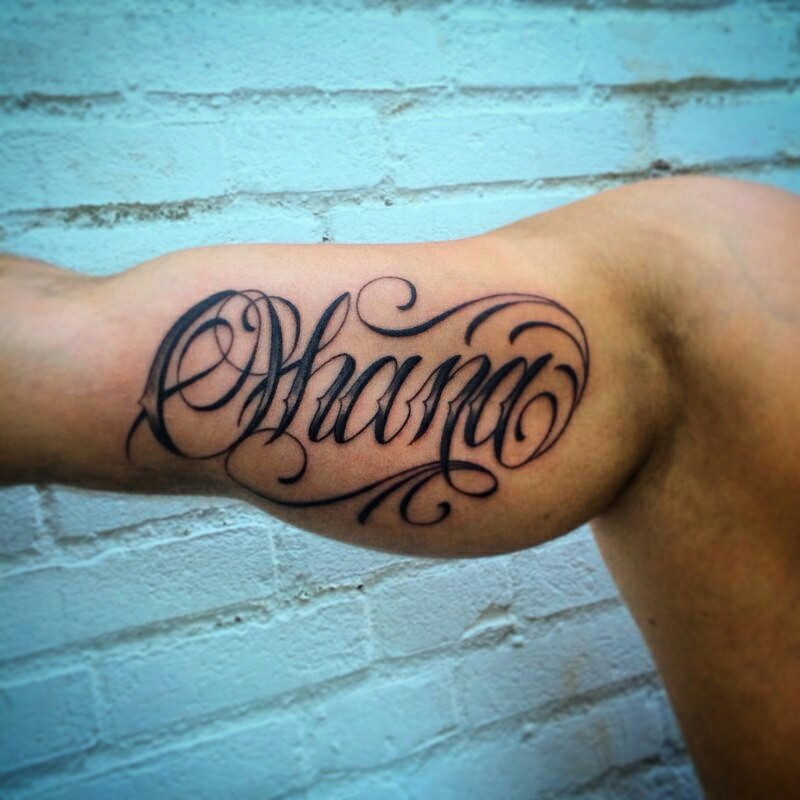 Tattoo For Men: Ohana Tattoo Designs, Ideas And Meaning