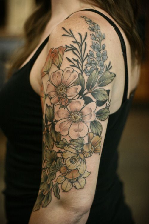 Plant Tattoos Designs, Ideas And Meaning