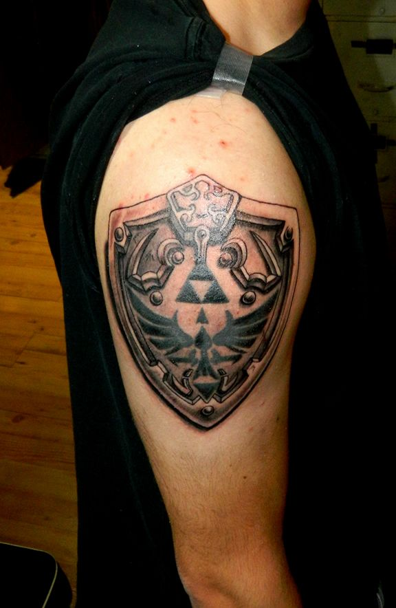 Shield Tattoo Designs  Ideas And Meaning