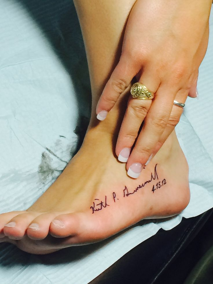 Signature Tattoo Designs, Ideas and Meaning | Tattoos For You