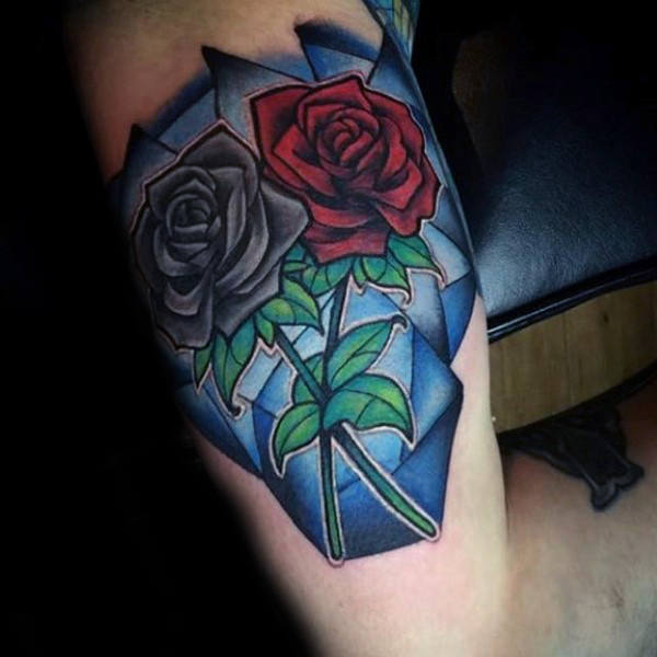 stained glass tattoo designs ideas and meaning tattoos for you. Black Bedroom Furniture Sets. Home Design Ideas