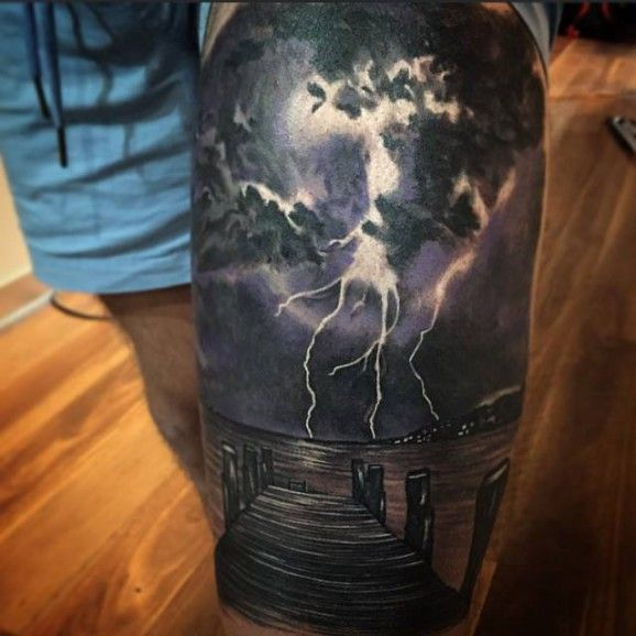 Storm Tattoo Designs, Ideas And Meaning
