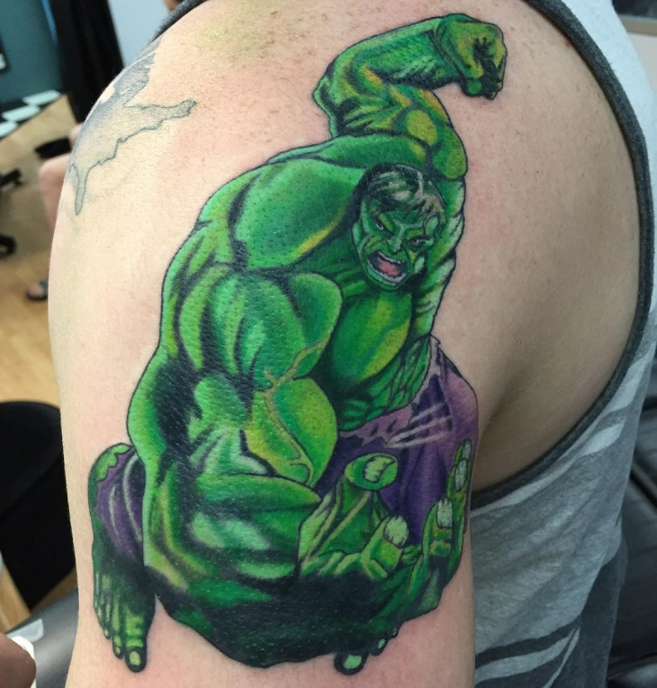 hulk tattoos designs ideas and meaning tattoos for you. Black Bedroom Furniture Sets. Home Design Ideas