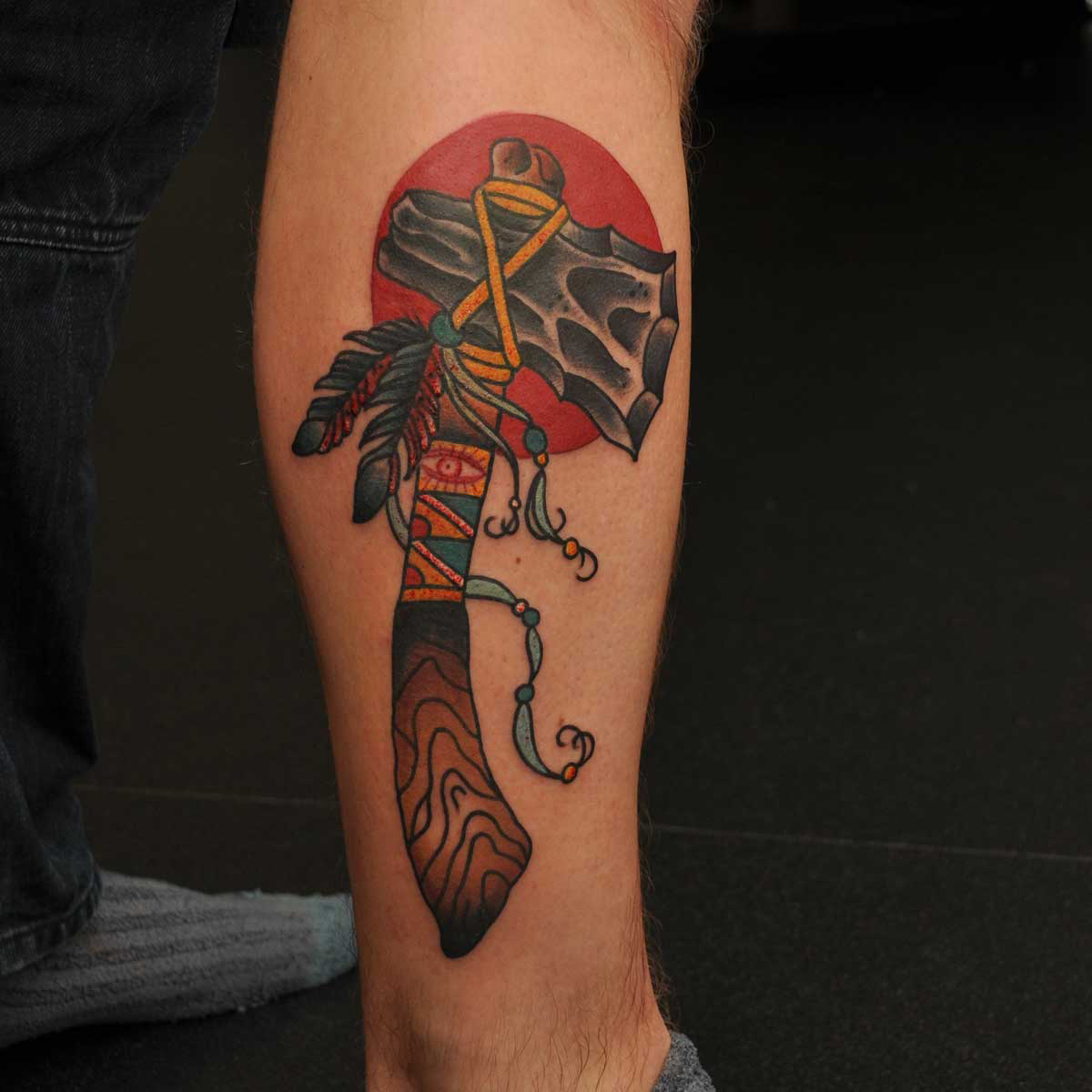 Tomahawk Tattoo Designs, Ideas And Meaning