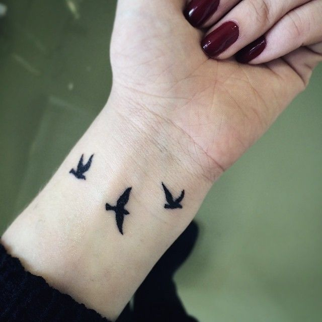 Bird Wrist Tattoos Designs, Ideas and Meaning | Tattoos ...