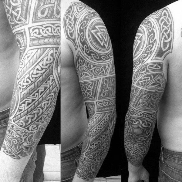 Celtic Sleeve Tattoo Designs Ideas And Meaning Tattoos For You