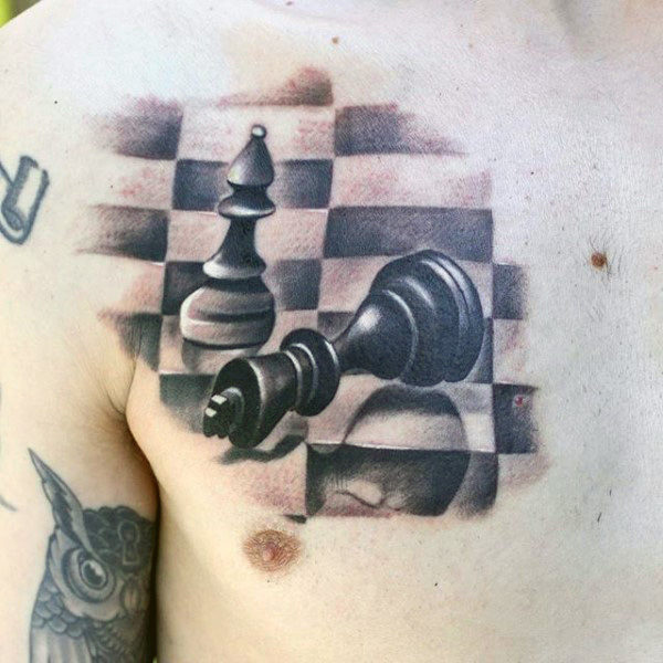Chess Tattoo Designs Ideas And Meaning Tattoos For You