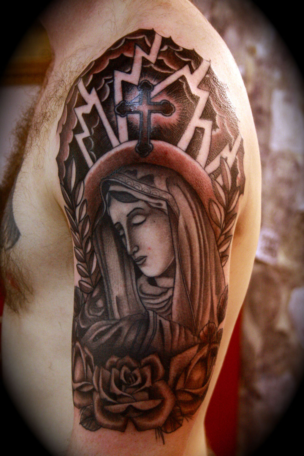 Christian tattoos for men designs ideas and meaning for Christians and tattoos