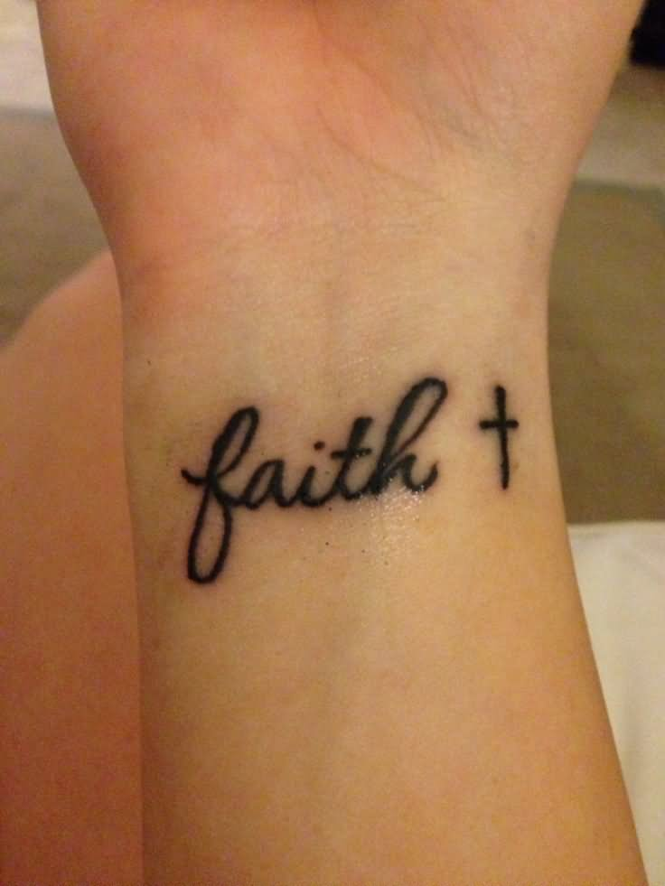 Faith Wrist Tattoos Designs, Ideas and Meaning | Tattoos ...