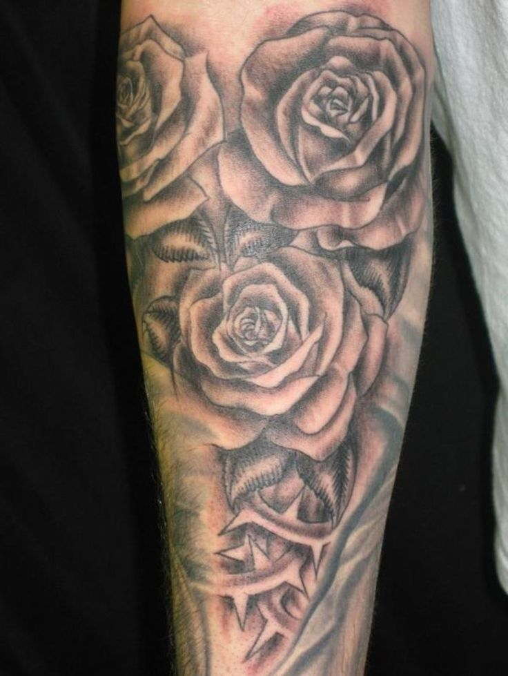 Flower Tattoos Tattoos Floral: Flower Tattoo Men Designs, Ideas And Meaning