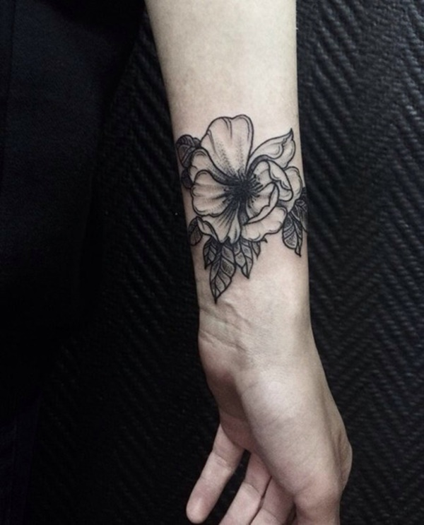 Flower Wrist Tattoos Designs Ideas And Meaning Tattoos For You