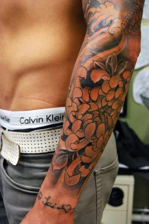 Tattoos For Men Forearm: Flower Tattoo Men Designs, Ideas And Meaning