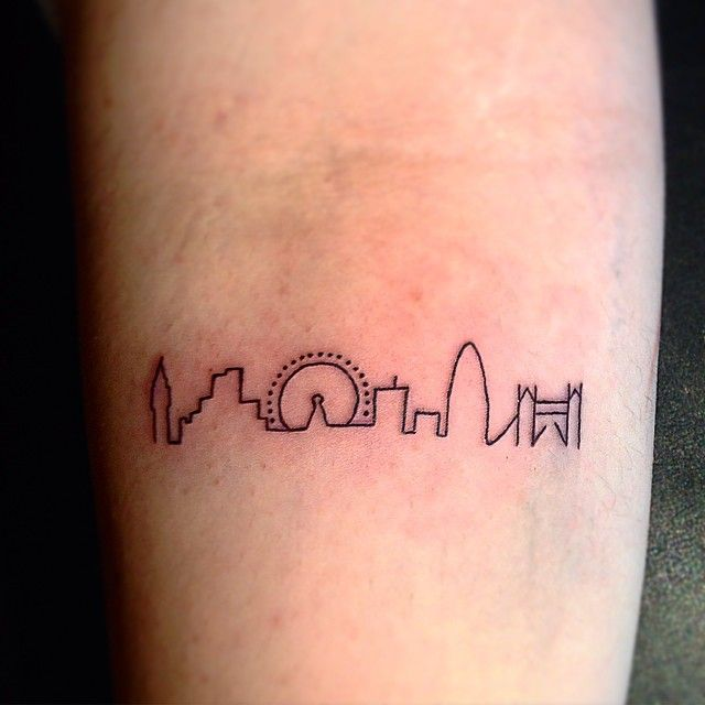 Skyline Tattoo Designs Ideas And Meaning
