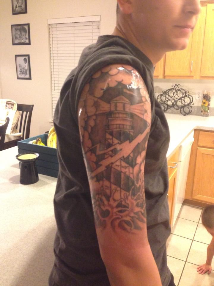 Navy Sleeve Tattoos Designs, Ideas and Meaning   Tattoos ...