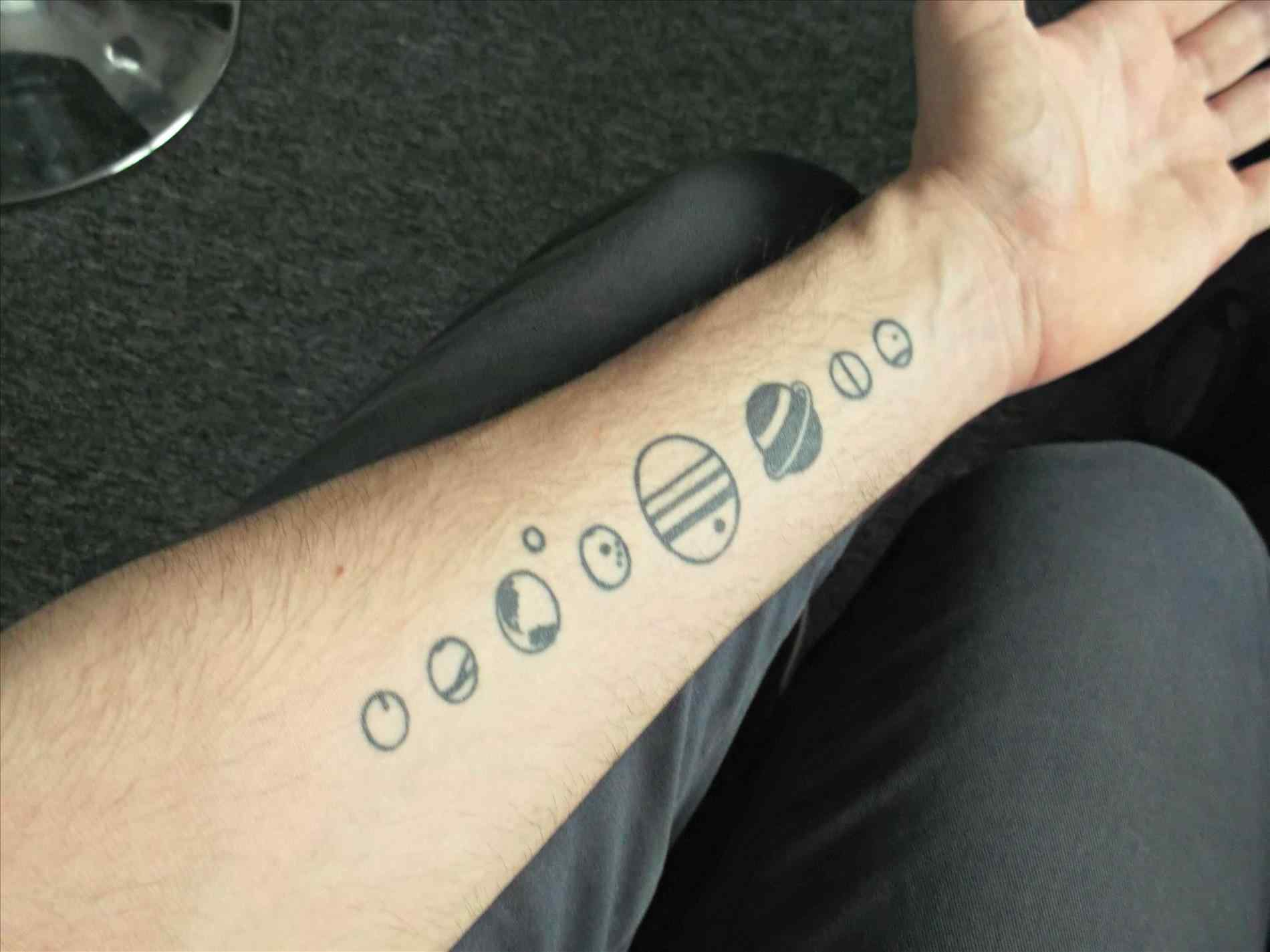 Planet Tattoo Designs, Ideas And Meaning