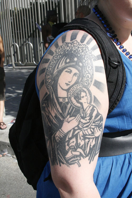 Religious Sleeve Tattoos Designs, Ideas and Meaning ...
