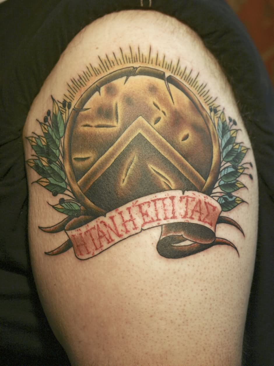 Shield Tattoos With Names