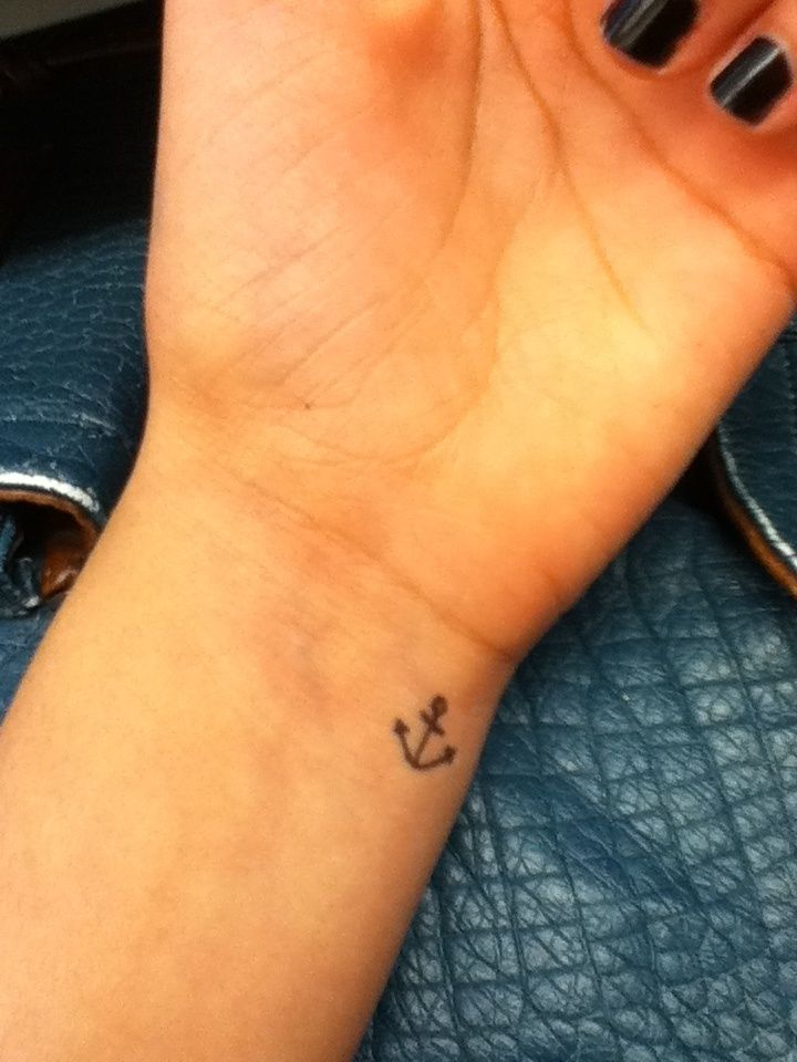 Anchor Wrist Tattoo Designs Ideas And Meaning Tattoos For You