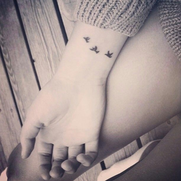 Bird Wrist Tattoos Designs Ideas And Meaning Tattoos For You