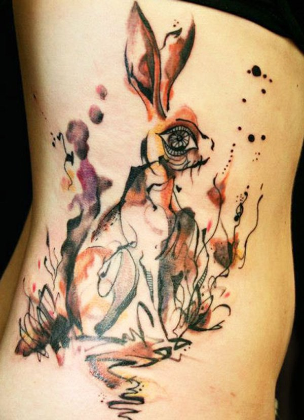 97aa6bf78 Watercolor Animal Tattoo Designs, Ideas and Meaning | Tattoos For You