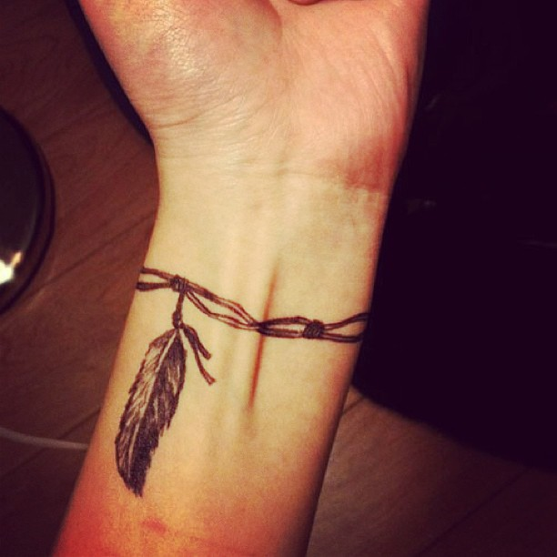 Wrist Bracelet Tattoos Designs Ideas And Meaning Tattoos For You