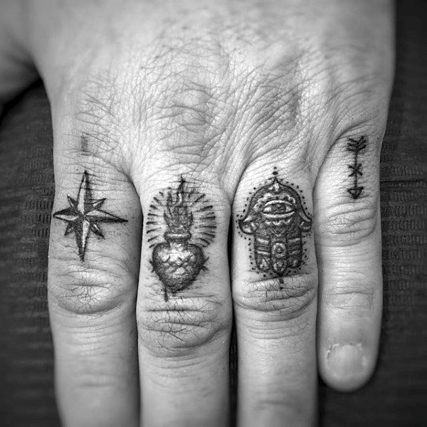 75 Finger Tattoos For Men: Finger Tattoos For Men Designs, Ideas And Meaning