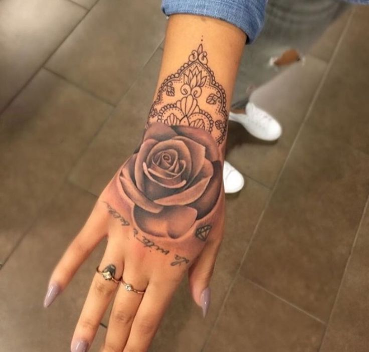 Tattoo Designs Simple On Hand For Girl: Hand Tattoos For Girls Designs, Ideas And Meaning