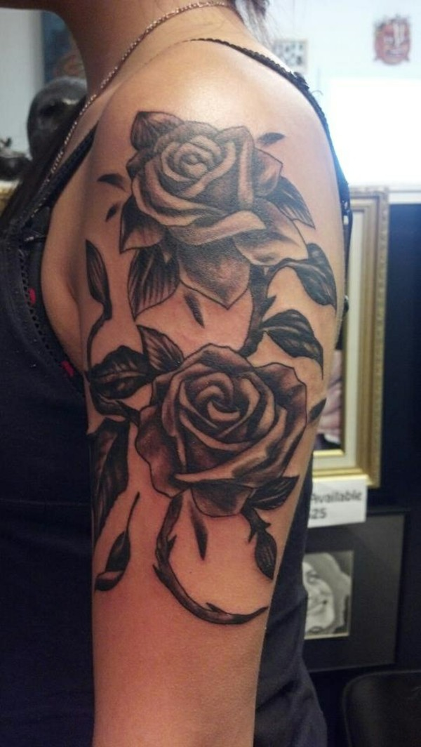 Upper Arm Tattoos Girl Designs Ideas And Meaning Tattoos For You