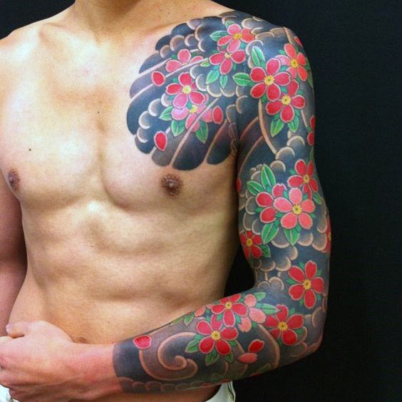 japanese tattoos for men designs ideas and meaning tattoos for you. Black Bedroom Furniture Sets. Home Design Ideas