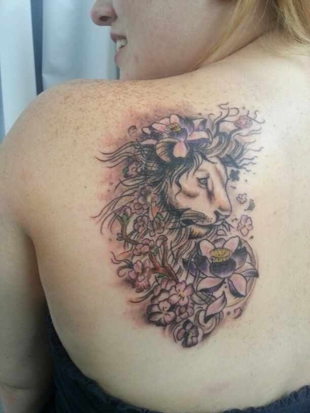 Lion Tattoo For Girl Designs Ideas And Meaning Tattoos For You