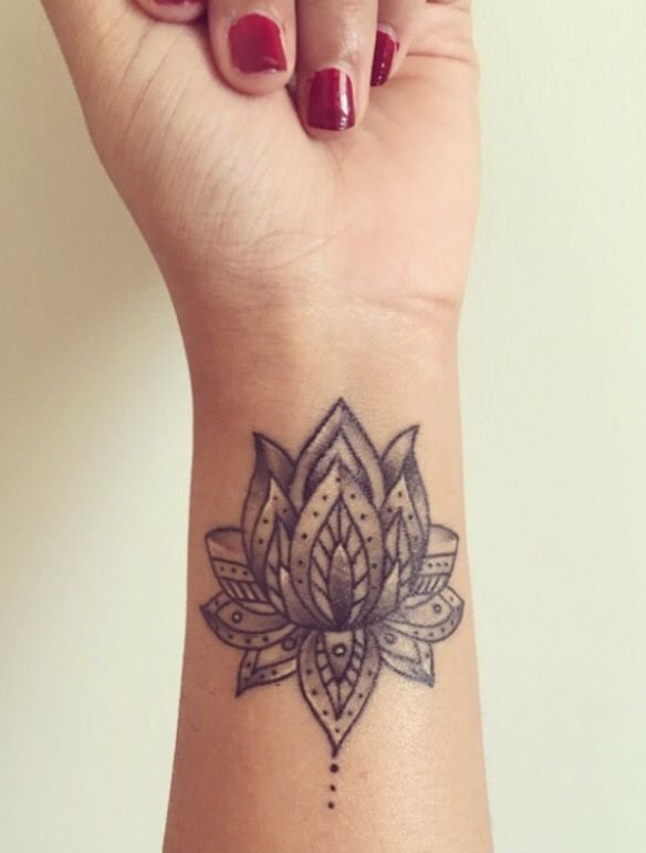 Lotus flower tattoo wrist designs ideas and meaning tattoos for you lotus flower tattoo wrist designs ideas and meaning mightylinksfo
