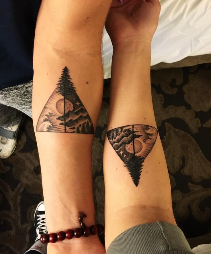 Brother And Sister Tattoos: Brother And Sister Matching Tattoos Designs, Ideas And