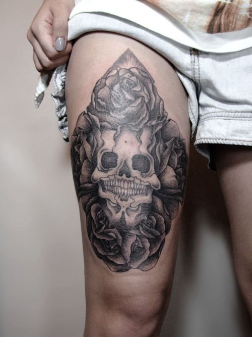 Men Thigh Tattoo Designs, Ideas and Meaning | Tattoos For You