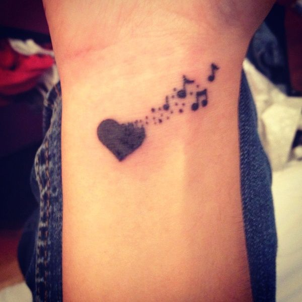 Music Wrist Tattoos Designs, Ideas and Meaning | Tattoos ...