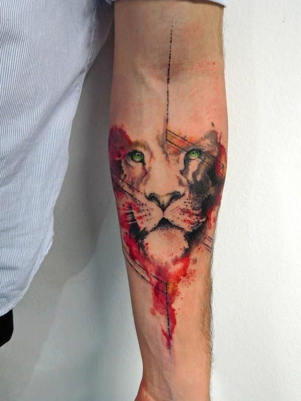 Lion Forearm Tattoos Designs, Ideas and Meaning | Tattoos For You